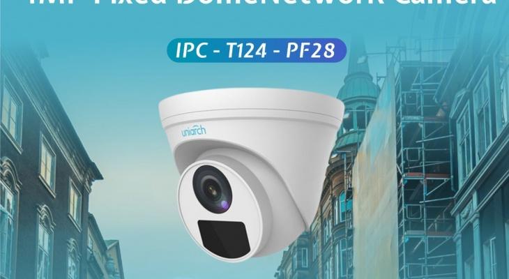 [UNI] - CLIP DEMO CAMERA IP POE 4.0MP UNIARCH IPC-T124-PF28